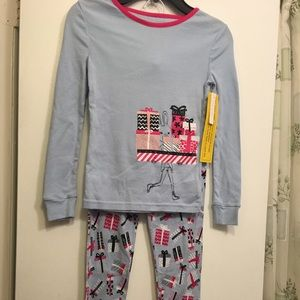 Pajama Girl's 100% cotton Size 7-8Y NWT